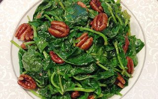 yum yum fusion, vegetables, veggie, kale recipe, Baby Kale, pecan, stir frying, fusion recipe