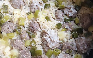 yum yum fusion, sausage, how to cook rice, rice cooker recipe, rice recipe, Shanghai classic, traditional Chinese